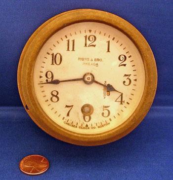 The Hanebergs Antiques Chelsea Motor Boat Clock 2 3 4