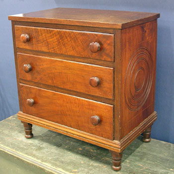 PA Walnut Childs Chest