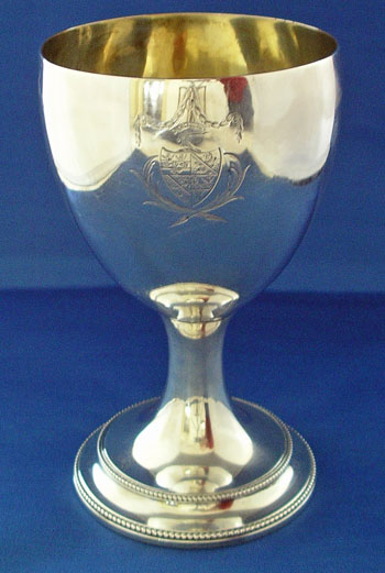 Silver Chalice by Charles Wright London 1778
