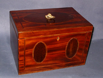 Large American Tea Cady or Chest