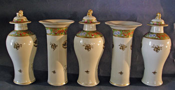 5 Piece Garniture Set