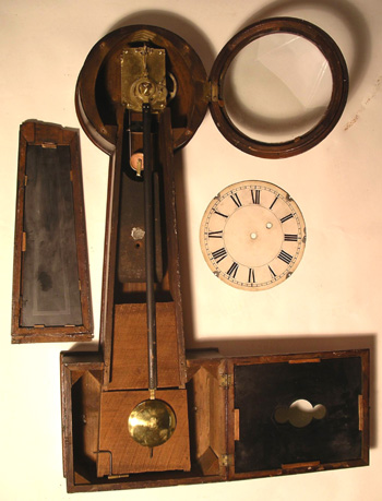 Banjo Clock attributed to Hatch