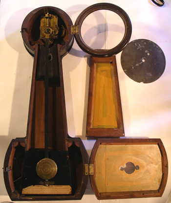 Howard Banjo Clock #5 with label