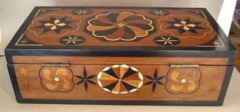 The Best Inlaid Sailors Ditty Box