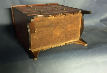American Miniature inlaid Chest