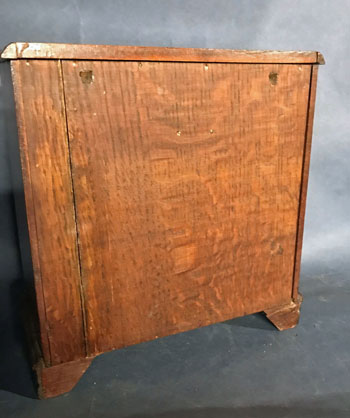 Miniature Mahogany Chest of Drawers