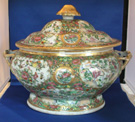 Large Scenic Medallion Tureen