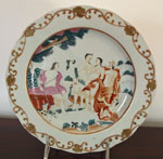 Judgement of Paris Chinese Export Plate