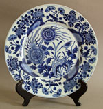10 Inch Kang Xi Chinese Export Plate