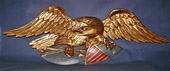Large Artistic Carving Co Eagle