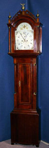 Abel Hutchins Tall Clock