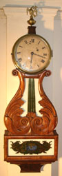 Box Lyre Clock
